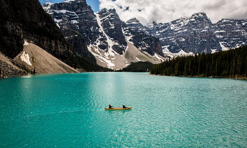 Shared by Jeff Bartlett at Moraine Lake