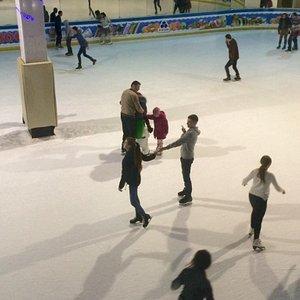 Ice Skating Rink Eskimos