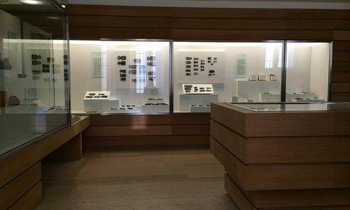 The Visigothic hall in the Museo de Segovia.