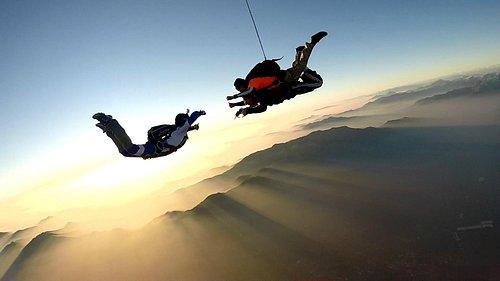 Hermosa vista a 13.000 pies de altura