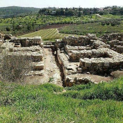 King Solomon's gate at Tel Gezer, Emek Ayalon