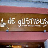 insegna De Gustibus Porto Venere