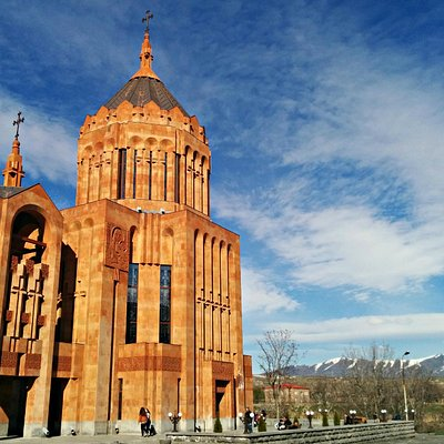 The Church of Amenaprkich, Nor Hachn, near Yerevan, Armenia