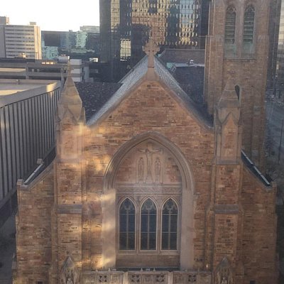 St. John's Cathedral, Downtown Cleveland, OH.