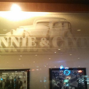 Cool pics from their Bonnie and Clyde mini exhibit.