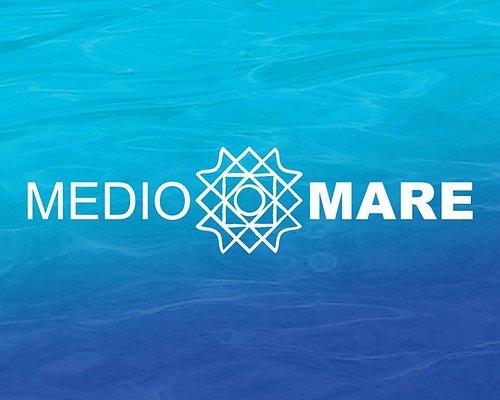 Logo della mediomare srl noleggio gommoni | escursione tavolara in maxigommone con skipper