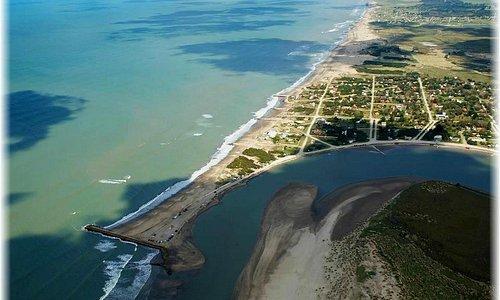 Boca de laguna de Mar Chiquita, Bs. As. argentina