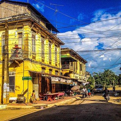 Old French Colonial Building, Battambang