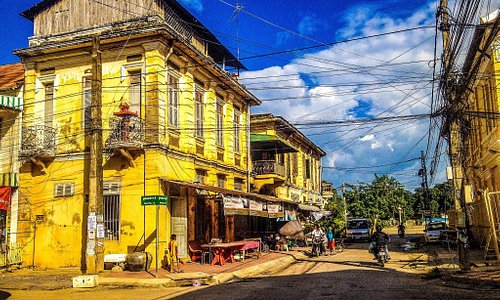 Old French Colonial Building, Battambang