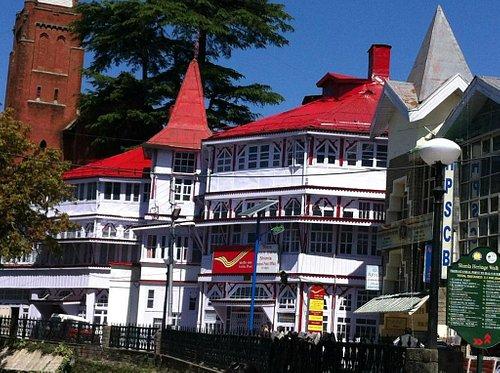 GPO on Mall road, Shimla