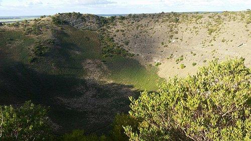 Mount Schank volcano