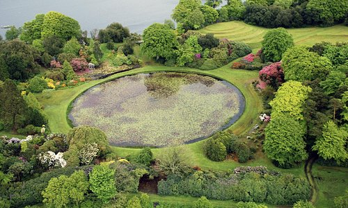 The Round Pond at Castle Kennedy Gardens
