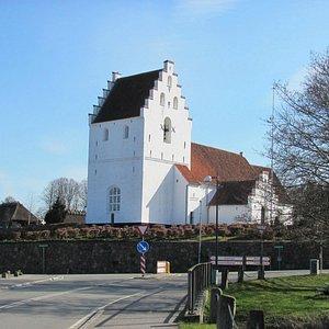 Kirken set fra Brobyværk