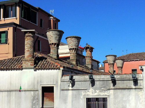 Cheminées Vénitiennes à Chioggia