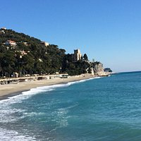 La spiaggia di Finalpia