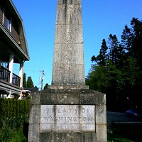 The Obelisk at Monument Park, Point Roberts, WA