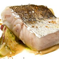 white fish and braised fennel