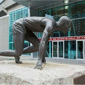 Entrance of BC Sports Hall of Fame at Gate A of BC Place
