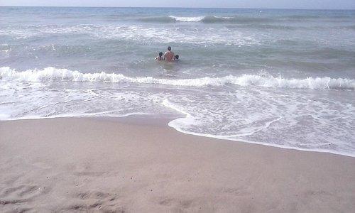 ótima praia para levar crianças
