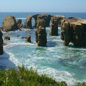 'Stonehenge' rock formations