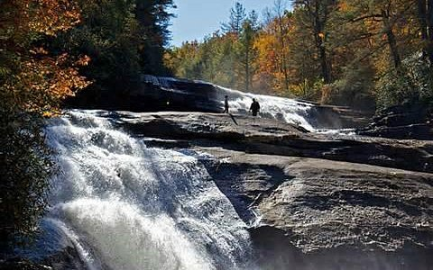 Nearby Triple Falls- DuPont State Forest