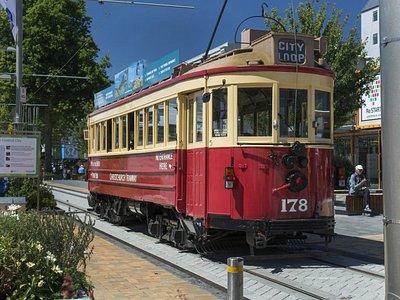 Christchurch Tram #178 - Restart Mall