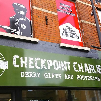 Checkpoint Charlie - Derry gift shop