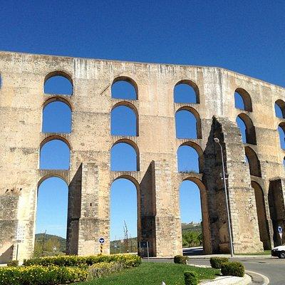 Parte central del acueducto
