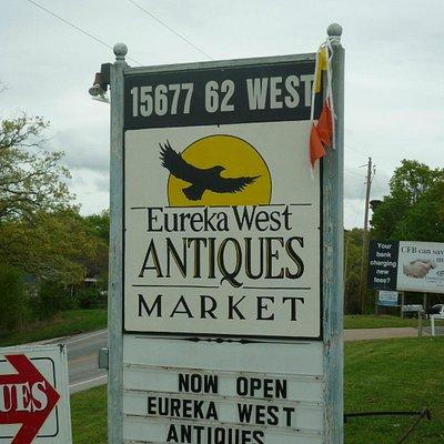Eureka West Antiques Market