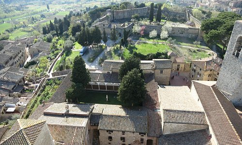 Вид на город с Torre Grossa