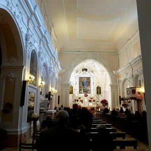 Праздничная служба в Церкви Святого Николая Чудотворца в Скалее - Италия