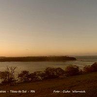 Lagoa Guaraíras em Tibau do Sul  RN    Foto: Cida Werneck