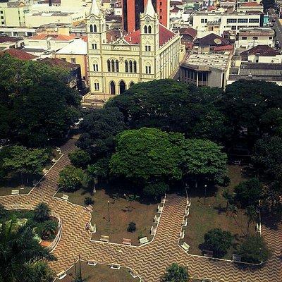 Igreja Senhor Bom Jesus dos Passos na Praça Monsenhor Messias Bragança