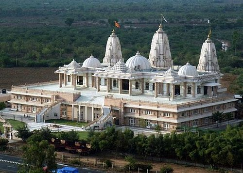 Temple View From Height