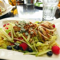 Roasted Chicken & Berry Salad