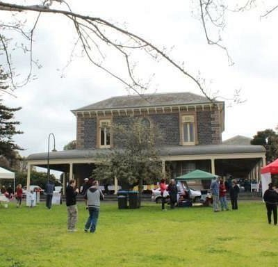The Market at Osborne House.  Held 3rd Sunday every month.