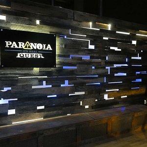 Paranoia Quest reception area