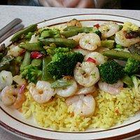Shrimp Dish at Leo's Coney Island Ypsilanti, MI