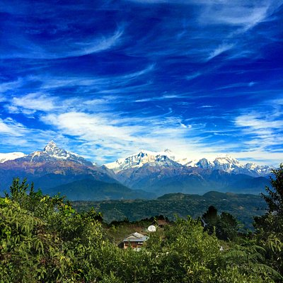 Adam Tribe in foot of Himalaya