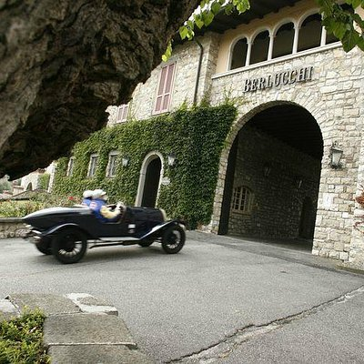 Berlucchi Winery entrance