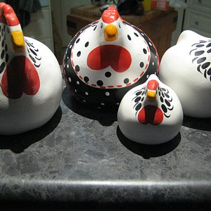 """Our """"Happy Hens""""!"""