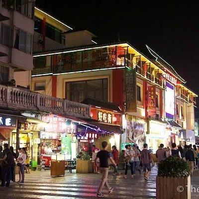中山中路夜市街