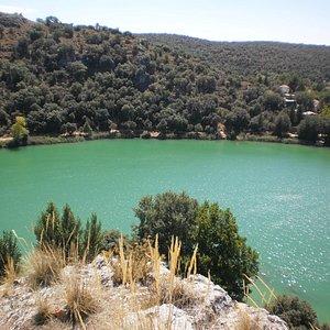 Laguna San Pedra panoramica desde  la Quebrada del Toro