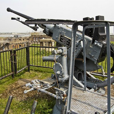 WWII Anti-Aircraft Gun