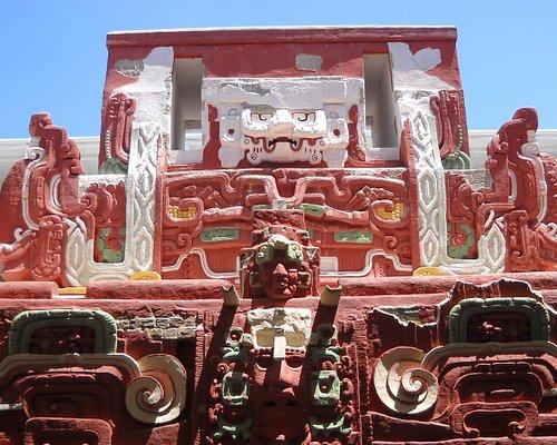Replica of Rosa Lila Temple