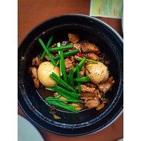 Pork clay pot