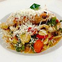 Orecchiette pasta dish that I ordered
