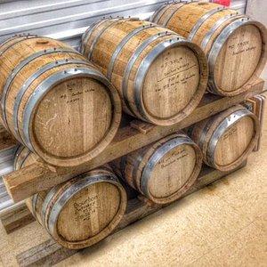 Bourbon aging in peace