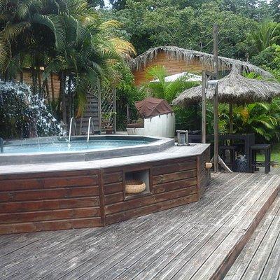 La piscine dans laquelle nous pouvons faire de l'aqua-biking