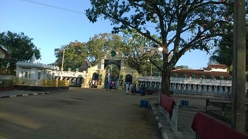 Kataragama kovil entrance